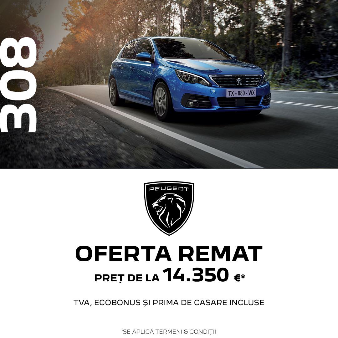 OFERTELE REMAT – Peugeot 308